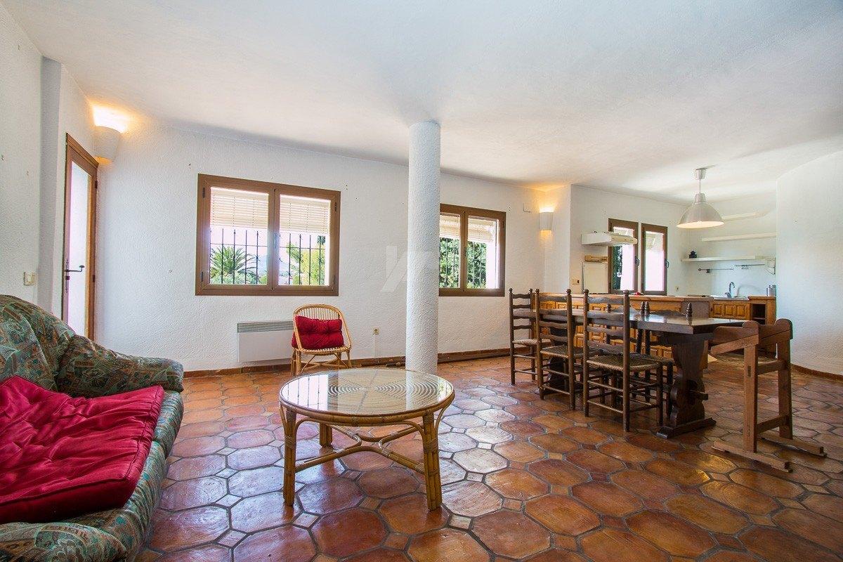 Villa primera línea para la venta en Moraira, Costa blanca.