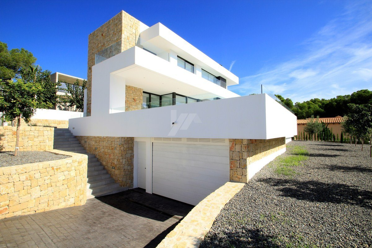 Chalet de lujo de nueva construcción en venta en Moraira, Costa Blanca.