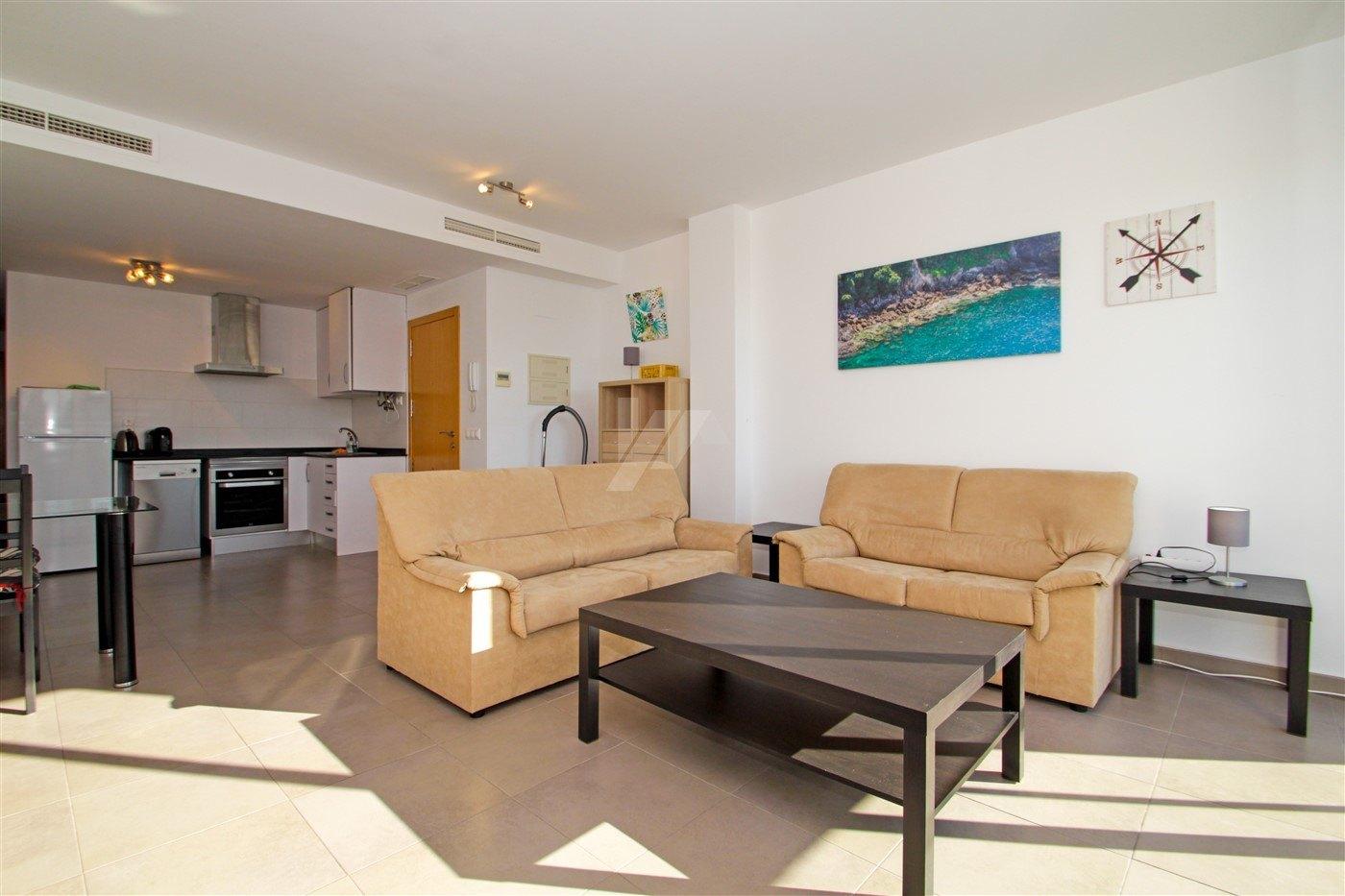 Se vende piso con vistas al mar en Benitachell, Costa Blanca.