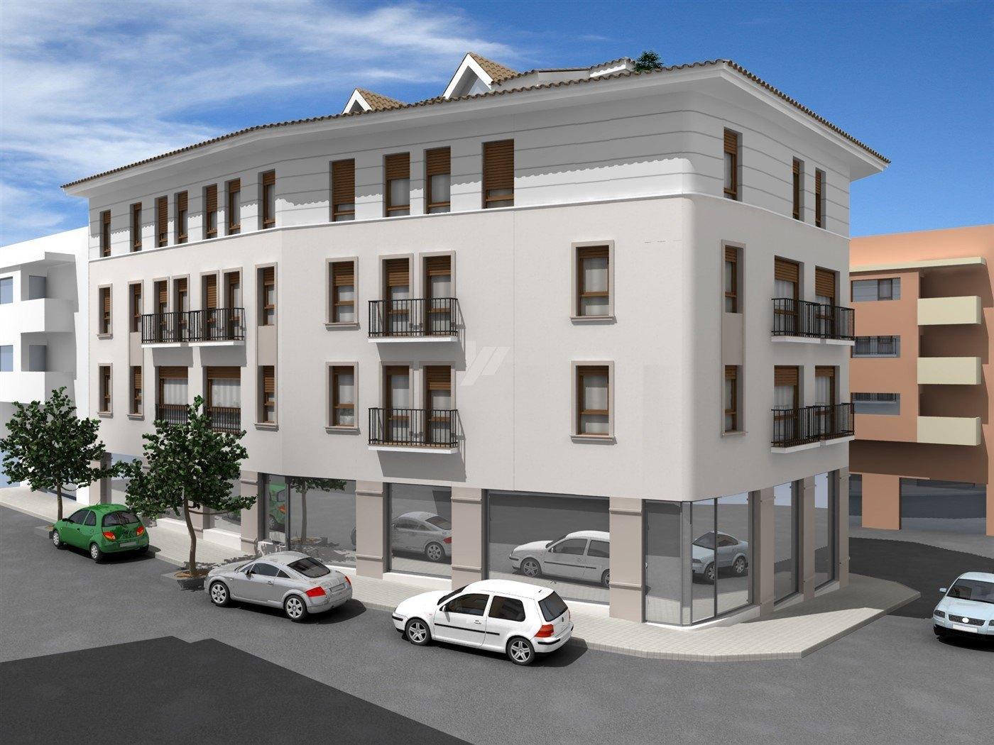 Piso de nueva construcción en venta en Moraira, Costa Blanca.