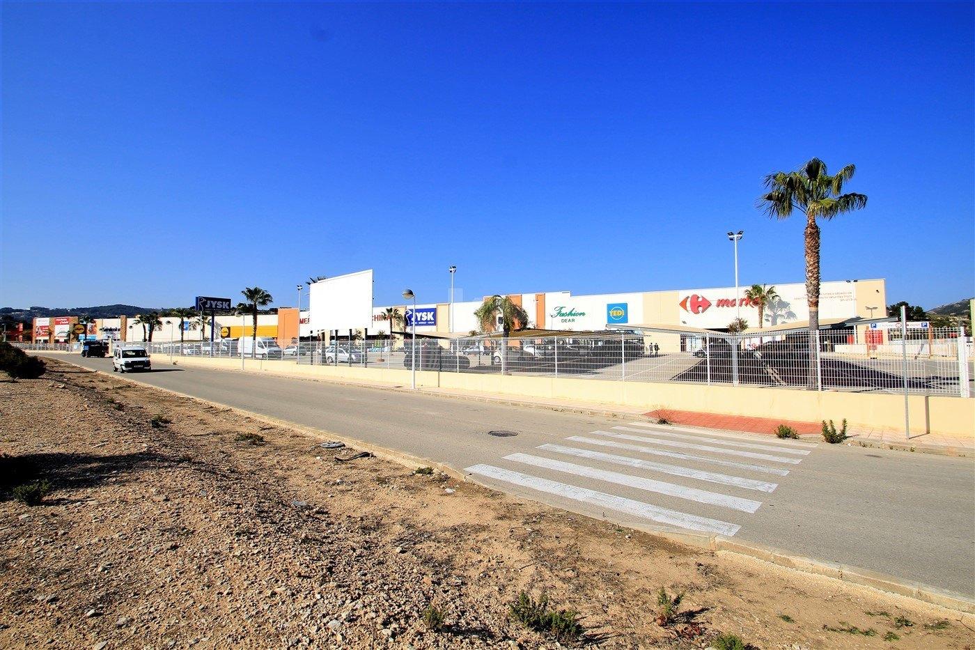 Terreno comercial en venta en Moraira, Costa Blanca.