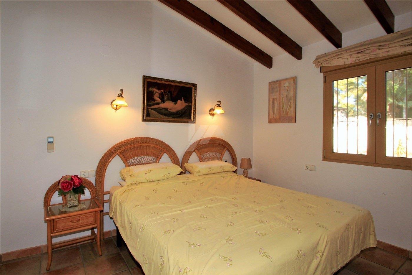 Inmaculada villa en venta en Moraira, Costa Blanca.